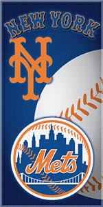"Northwest MLB New York Mets 30""x60"" Beach Towels"