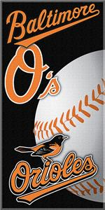 "Northwest MLB Orioles 30""x60"" Beach Towels"
