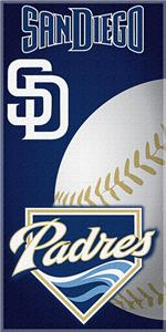 "Northwest MLB Padres 30""x60"" Beach Towels"