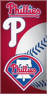 "Northwest MLB Phillies 30""x60"" Beach Towels"