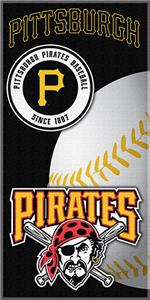 "Northwest MLB Pirates 30""x60"" Beach Towels"