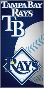 "Northwest MLB Toronto Rays 30""x60"" Beach Towels"