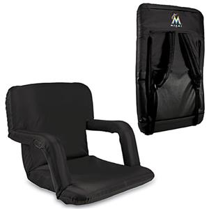 Picnic Time MLB Miami Marlins Ventura Recliner