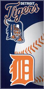 "Northwest MLB Detroit Tigers 30""x60"" Beach Towels"