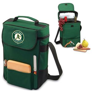 Picnic Time MLB Oakland Athletics Duet Wine Tote