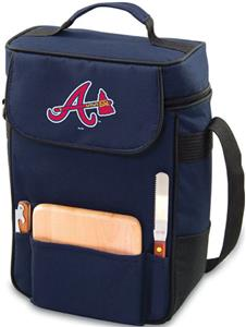 Picnic Time MLB Atlanta Braves Duet Wine Tote