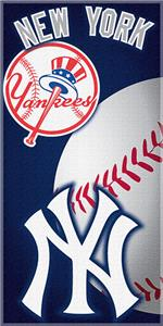 "Northwest MLB New York Yankees 30""x60"" Beach Towel"