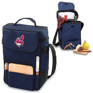 Picnic Time MLB Cleveland Indians Duet Wine Tote