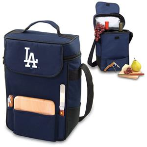 Picnic Time MLB Los Angeles Dodgers Duet Wine Tote