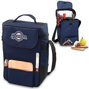 Picnic Time MLB Milwaukee Brewers Duet Wine Tote