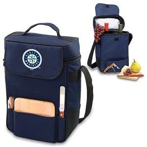 Picnic Time MLB Seattle Mariners Duet Wine Tote