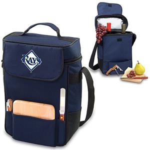 Picnic Time MLB Tampa Bay Rays Duet Wine Tote