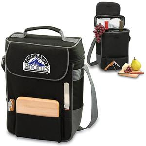 Picnic Time MLB Colorado Rockies Duet Wine Tote