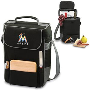 Picnic Time MLB Miami Marlins Duet Wine Tote