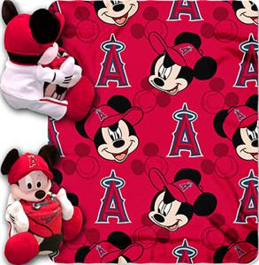 "Northwest MLB LA Angels 40""x50"" Mickey Throws"