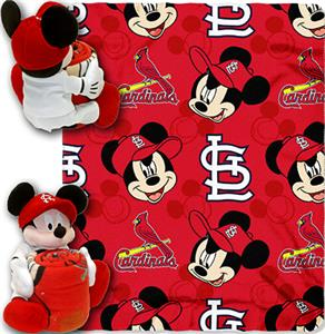 "Northwest MLB Cardinals 40""x50"" Mickey Throws"