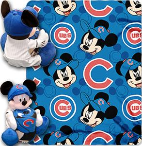 "Northwest MLB Chicago Cubs 40""x50"" Mickey Throws"