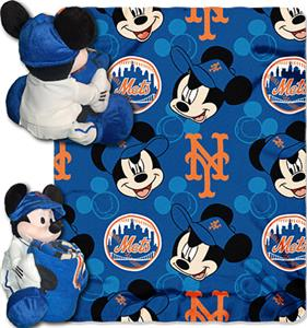 "Northwest MLB New York Mets 40""x60"" Mickey Throws"