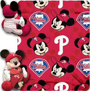 Northwest MLB Phillies 40&quot;x50&quot; Mickey Throws