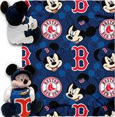 "Northwest MLB Boston Red Sox 40""x60"" Mickey Throws"