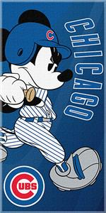 Northwest MLB Chicago Cubs Mickey Beach Towels