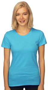 Royal Apparel Womens Organic Fine Jersey Crew Tee