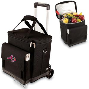 Picnic Time MLB Atlanta Braves Cellar w/ Trolley