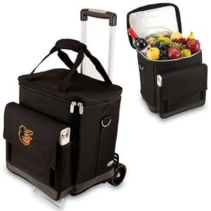 Picnic Time MLB Baltimore Orioles Cellar w/Trolley