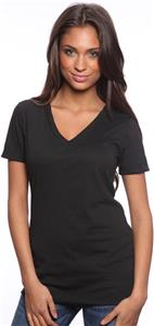 Royal Apparel Womens Fine Jersey V-neck Tee