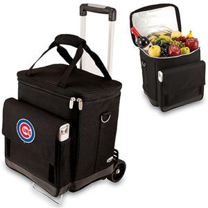 Picnic Time MLB Chicago Cubs Cellar w/ Trolley