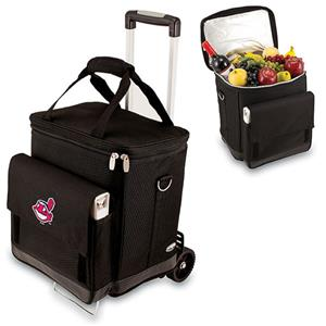 Picnic Time MLB Cleveland Indians Cellar w/Trolley