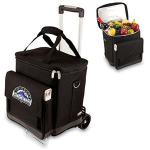 Picnic Time MLB Colorado Rockies Cellar w/ Trolley