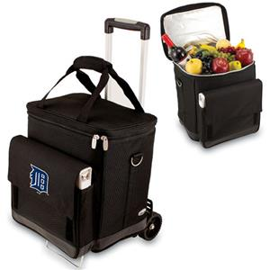 Picnic Time MLB Detroit Tigers Cellar w/ Trolley