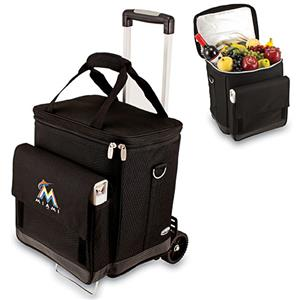 Picnic Time MLB Miami Marlins Cellar w/ Trolley