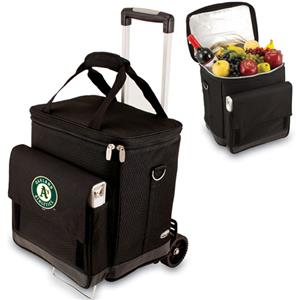 Picnic Time MLB Oakland Athletics Cellar w/Trolley