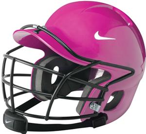NIKE Show Youth Batting Helmets Cage &amp; Chin Strap