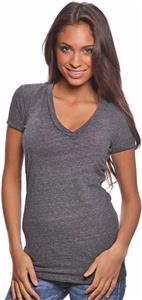 Royal Apparel Womens Triblend V-Neck Tee