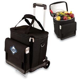 Picnic Time MLB Tampa Bay Rays Cellar w/ Trolley