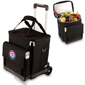Picnic Time MLB Texas Rangers Cellar w/ Trolley