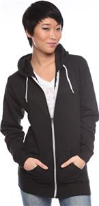 Royal Apparel Unisex Fashion Fleece Zip Hoody