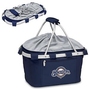 Picnic Time MLB Milwaukee Brewers Metro Basket