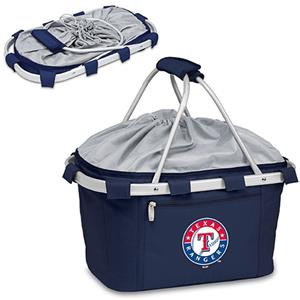 Picnic Time MLB Texas Rangers Metro Basket