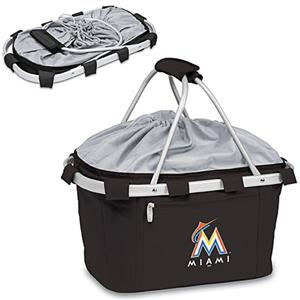 Picnic Time MLB Miami Marlins Metro Basket