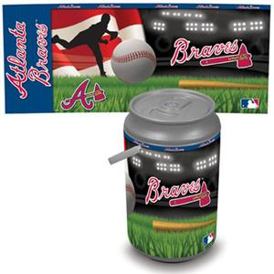 Picnic Time MLB Atlanta Braves Mega Can Cooler