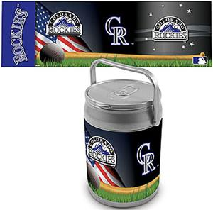 Picnic Time MLB Colorado Rockies Can Cooler