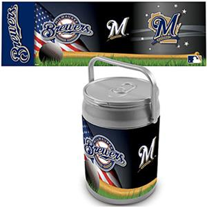 Picnic Time MLB Milwaukee Brewers Can Cooler