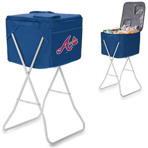 Picnic Time MLB Atlanta Braves Party Cube