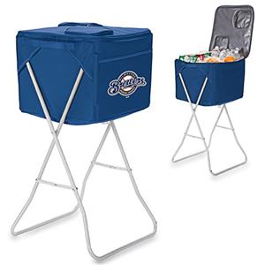 Picnic Time MLB Milwaukee Brewers Party Cube