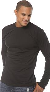 Royal Apparel Mens Long Sleeve Crew Tee