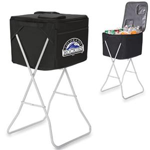Picnic Time MLB Colorado Rockies Party Cube